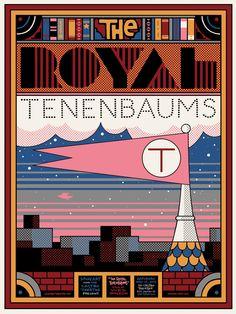 """""""The Royal Tenenbaums"""" @Dominique Pratt"""