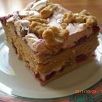 Hukzulka - zachwycajace ciasto - przepis - stokrotka390 - wielkiezarcie.com Snack Recipes, Snacks, Happy Foods, Food And Drink, Sweets, Apple, Lunch, Baking, Cakes