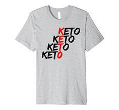 5f15b443e5 Mens Keto Shirt For men Women Youth Ketogenic Ketosis ketones ket 2XL  Heather Grey >