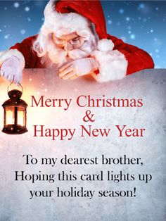 send free to my dearest brother merry christmas card to loved ones on birthday greeting cards by davia