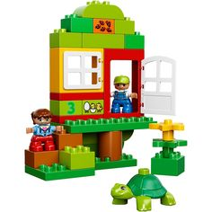 LEGO DUPLO My First My First Playhouse - Walmart.com
