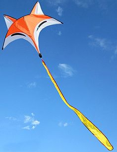 Hengda Kite NEW Ainimal Orange Fox Kite Outdoor Fun Sports Hengda kite http://www.amazon.com/dp/B010RX70TS/ref=cm_sw_r_pi_dp_I7v8wb170Q6YJ