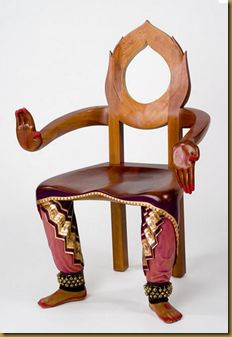 Bharatnatyam dance chair.... I know this is weird but I like it :)