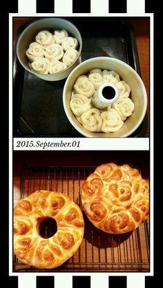 薔薇のパン(*^▽^)/