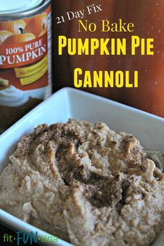 Here is a version I whipped up of Pumpkin Pie Cannoli that is awesome because it's easy, clean, delicious, AND 21 Day fix approved! For more clean eating recipes and 21 Day Fix Resources, go to www.FitFunTina.com
