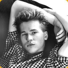 Val Edward Kilmer (born in Los Angeles, California, on December 31, 1959) is an American actor. Originally a stage actor, Kilmer became popular in the mid-1980s after a string of appearances in comedy films, starting with Top Secret! (1984), then the cult classic Real Genius (1985), as well as the blockbuster action films Top Gun and Willow.