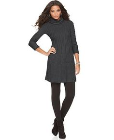 Finally, a sweater dress for girls with curves (my friend designs these!)