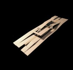 Architecture Model Making, Architecture Drawings, Concept Architecture, Modern Architecture, Airport Design, Landscape Model, Arch Model, Urban Design, House