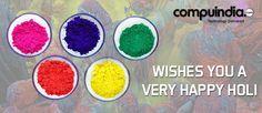 #Compuindia wishes you a very #Happy #Holi!!