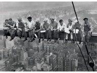 New York (robotnicy) - plakat 140x100 cm