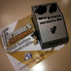 NPD! Formula B Mini Bender MkII by @marco_bovelli  #npd #ngd #guitarpedals #guitareffects #effectspedals #pedals #guitarfx #fxpedals #pedalporn #guitarporn #gearporn #geartalk #pedalboard #guitar #guitarist #guitargear #effectsdatabase #fxdb #mkii #minibender #tonebender #fuzz