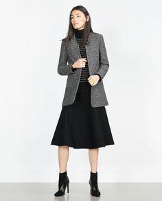 Image 1 de BLAZER LONG de Zara