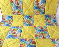 Hey, I found this really awesome Etsy listing at https://www.etsy.com/listing/461707622/handmade-baby-quilt-handmade-zoo-quilt