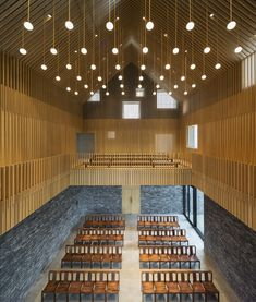 Neri & Hu's Suzhou Chapel combines textured brick base with ethereal white cube Sacred Architecture, Architecture Design, Romanesque Architecture, Cultural Architecture, Religious Architecture, Education Architecture, Classic Architecture, Residential Architecture, Contemporary Architecture