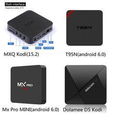 CJW Dolamee D5 Android 5.1 TV Box Rockchip RK3229 Quad-core Cortex A7 1.5GHz 32bit 1GB DDR3 RAM 8GB (1GB/8GB, D5 Kodi(16.1))