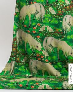 Digitaldruckjersey Green Unicorn