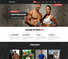 This free psd is a fitness landing page or website template.Design a website or landing page to promote gyms, fitness products and personal trainers using Page Template, Psd Templates, Website Template, Fitness Photos, Responsive Web, Landing Page Design, Web Inspiration, Drupal, Cool Websites