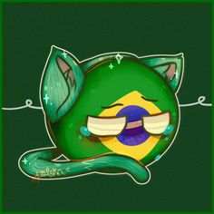 Read from the story ☭Imágenes Countryhumans☭ by WingDings_Gaster (💧♋♎) with reads. Hetalia, Brazil Animals, Brazil Wallpaper, O Emoji, Brazil Country, Spirit Fanfics, Christmas Is Over, Wattpad, Chibi