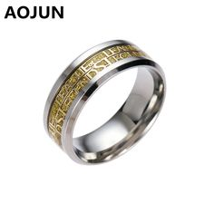 League of Legendes Stainless Steel Man Ring Hot Online Game LOL Gold Silver Black Titanium Ring Men Women Wedding Jewelry Gift //Price: $US $3.07 & FREE Shipping //     #hashtag2