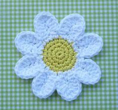 Daisy Coasters ~ free pattern