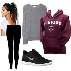 Winter College outfit