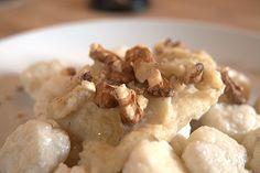 Gnocchi di ricotta topinambur e noci | Le ricette di Ciccia Bacilla