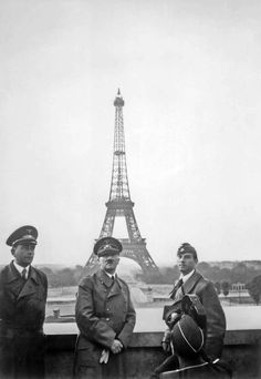 Hitler after the Nazi's occupied Paris