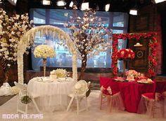 Decoración fantasiosa de boda - matrimonio