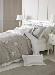 Bhs Exclusive Holly Willoughby Skye Bed Linen Range From 15 White Bedrooms Pinterest