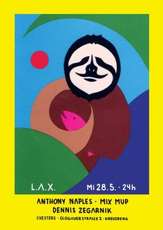 RA: LAX with Anthony Naples, Mix Mup & Dennis Zegarnik at Chesters, Berlin (2014)