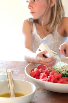 Watermelon ricota salad - dash and bella
