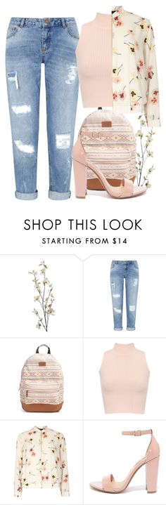 """""""pink summer to fall look"""" by terriblefeels ❤ liked on Polyvore featuring Pier 1 Imports, Miss Selfridge, Rip Curl, WearAll, Dorothy Perkins, Steve Madden, Summer, Fall, pastel and groupcontest"""