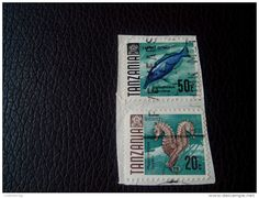 RARE Tanzania 20/50 CENT OVERPRINT FIVE YEARS LETTRE RECOMMANDEE STAMPS ON PAPER COVER USED SEAL - Tanzania (1964-...)