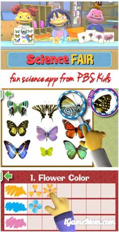 Teaching kids basic science concept can start as early as preschool age: Sid's Science Fair App from PBS Kids does a great job in teaching kids basic science concept while playing fun games.