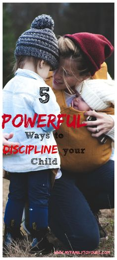 5 ways to discipline your child, toddler and gain your authority back.