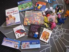 Seven Lovely Things: ROAR kit- San Antonio Public Library