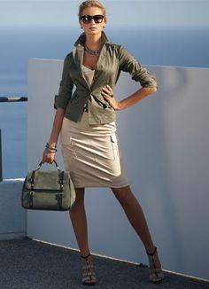 стиль сафари в одежде 2013 7