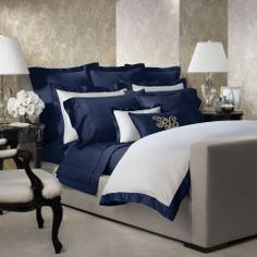 Polo Navy Langdon Collection - Ralph Lauren Home Bedding Collections - RalphLauren.com
