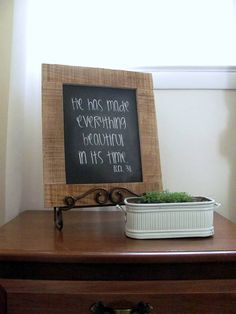 He has made everything beautiful in its time by ourhousetoyours, $25.00