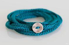 crochet bracelet / necklace