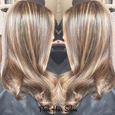 Highlights at Posh Hair Salon NYC
