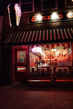 Grand Ole Creamery ~ St. Paul, MN - I dream of their homemade waffle cones with a malted milk ball at the bottom -yum