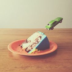 Brock Davis car and cake