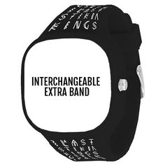 @flexwatches Last Kings Black Band by Flex Watches is the signature product in the Last Kings Collection. Designed by Tyga, the watch band has a clean black color with the hieroglyphics pattern. Buy a replacement elastic band and combine with another Flex Watches interchangeable watch face. Dress like a Pharaoh king, join the Flex zone. www.flexwatches.com
