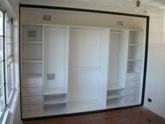 Layout for closet Wardrobe Organisation, Wardrobe Storage, Built In Wardrobe, Bedroom Storage, Closet Organization, Bedroom Decor, Closet Shelving, Walk In Closet Design, Wardrobe Design
