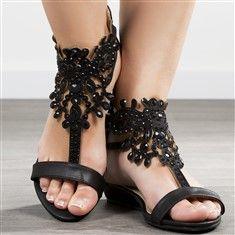 Sandales noir femmes taille 38 talons de 3 cm