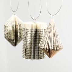 Folded Paper Ornaments