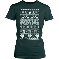 Special Education Teacher - Ugly Sweater
