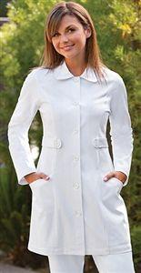 "NRG Women's Tab Front 33"" Scrub Lab Coat By Barco Uniforms 3409 $39.00  #scrubs…"