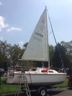 my 1986 Catalina 22 swing keel